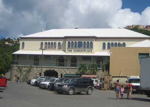 Shop at the Marketplace in Cruz Bay